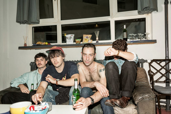 black lips, editorial portrait, backstage frankfurt